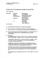 Styrelsemöte-2009-08-25