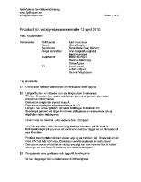 Styrelsemöte-2010-04-13