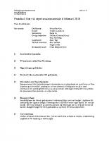 Fjällhöjdens styrelse 2018-02-06