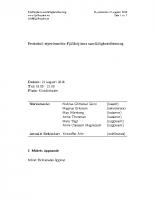 Fjällhöjden styrelsemötesprotokoll 2018-08-21