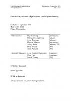 Fjällhöjden styrelsemötesprotokoll 2019-09-11