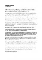Parkering av bilar