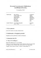 Fjällhöjden styrelsemötesprotokoll 2019-11-05