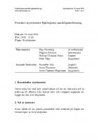 Fjällhöjden styrelsemötesprotokoll 2019-03-19