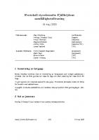 Fjällhöjden styrelsemötesprotokoll 2020-05-19