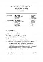 Fjällhöjden styrelsemötesprotokoll 2020-06-08