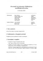 Fjällhöjden styrelsemötesprotokoll 2020-10-06